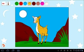 Screenshot of Kids Paint & Color Lite