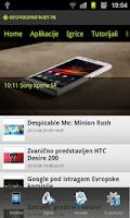 Screenshot of Droid Market Srbija