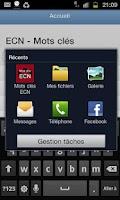 Screenshot of Mots Cles ECN