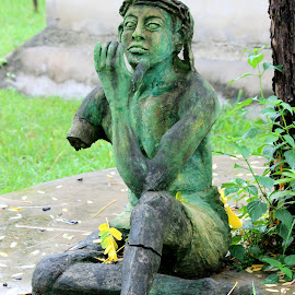 Want to live by Sandipan Ghosh - Buildings & Architecture Statues & Monuments ( sculptures, nature art, sculpture, nature, art, artistic object, monument, human )
