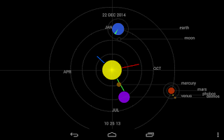 Screenshot of FREE Astro Clock LWP
