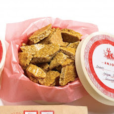 Ginger-Sesame Brittle