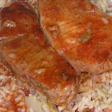Spicy Baked Pork Steaks