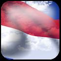 3D Monaco Flag icon