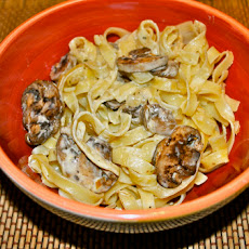 Pasta with Portobello Mushrooms