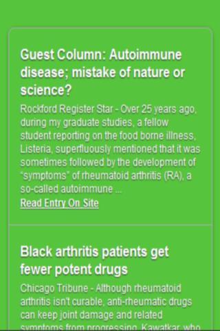 Arthritis Symptoms Revealed