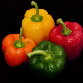 Capsicum #2 by Sarath Sankar - Food & Drink Fruits & Vegetables