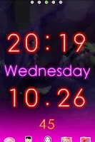 Screenshot of Neon LiveWallpaper Trial
