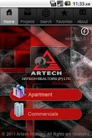 Screenshot of Artech Realtors