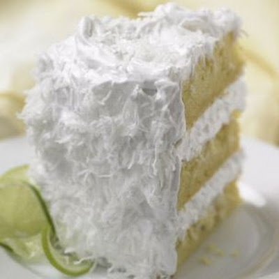 Coconut-Lime Cake