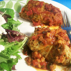 Vegetarian Stuffed Cabbage (Ww)