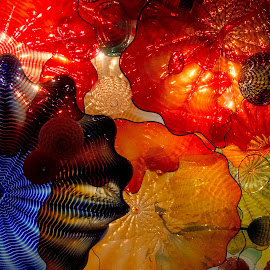Micrososom by Gene Myers - Abstract Patterns ( shotsbygene, abstract, chihuly, color, art, glass, show, gene myers,  )