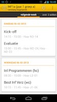 Screenshot of TimeTables - Inholland Rooster