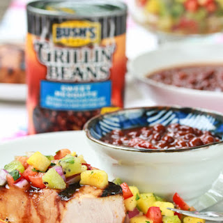 Grilled Pork Chops Recipe with Pineapple Salsa