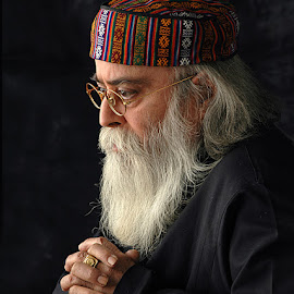 The Priest.. by Rakesh Syal - People Portraits of Men (  )