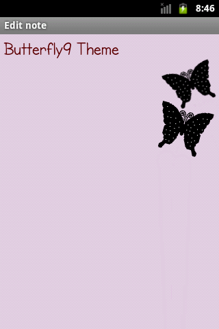 Butterfly9 Theme