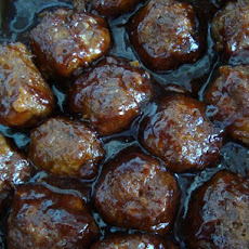 Honey Garlic Appetizer Meatballs