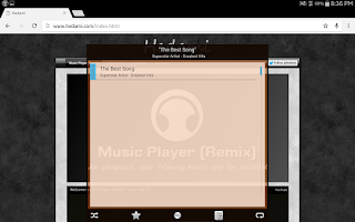 Screenshot of Music Player (Remix) - Trial