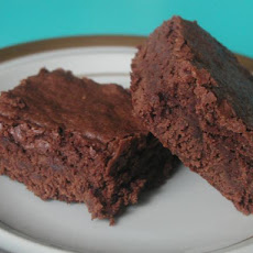 Gourmet Girl's Famous Decadent Rich and Gooey Saucepan Brownies