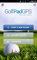 Screenshot of Golf GPS Rangefinder: Golf Pad