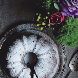 Chocolate Fudge & Cranberry Bundt Cake