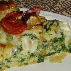 Phyllo Spinach Fish Pie