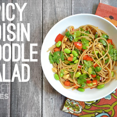 Spicy Hoisin Noodle Salad
