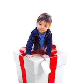 Baby present by Sadzak Vladimir - People Portraits of Men ( present, gift, baby,  )