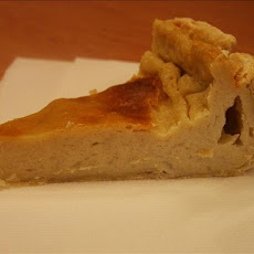 South African Milk Tart -- Traditional