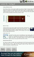 Screenshot of Guitar Lessons Free