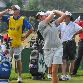 Stacy Lewis 2010 by Lawrence Kelly - Sports & Fitness Golf ( lpga, golf, 2010, golfers, us open, lady golfers, oakmont,  )