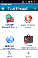 Screenshot of TotalFireWall