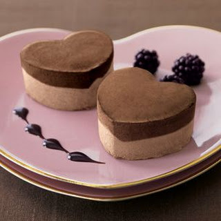Molded Chocolate Ice Cream Dessert
