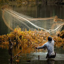 Fisherman by Dikky Oesin - People Professional People