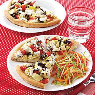 Flatbread Veggie Pizza Recipes