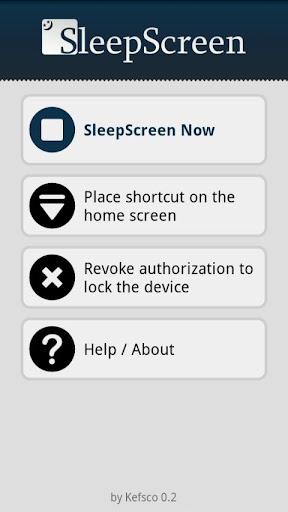 SleepScreen