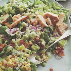 Succotash Salad with Buttermilk Avocado Dressing