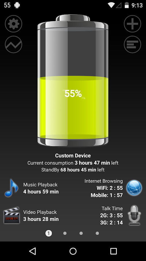 Battery HD Pro Screenshot 0
