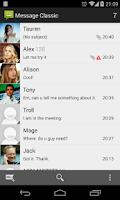 Screenshot of Messaging Classic - 4.4 Kitkat