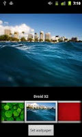 Screenshot of Verizon DROID Wallpapers