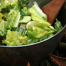 Crunchy Celery and Romaine Heart Salad Recipe