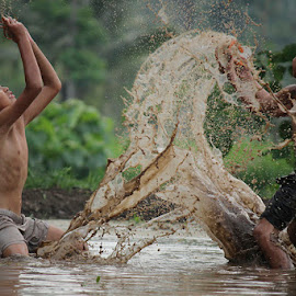mud by Haris Fallin - Babies & Children Children Candids