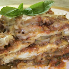 Mile-High Crock Pot Lasagna With Zucchini or Spinach