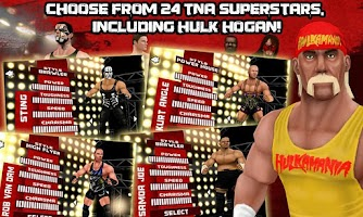 Screenshot of TNA Wrestling iMPACT!