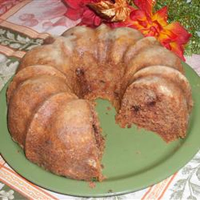Cocoa Apple Cake