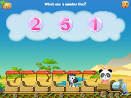 Screenshot of Lola's Math Train FREE