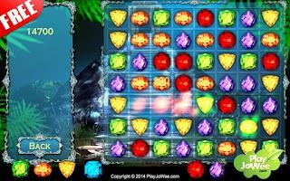 Screenshot of Lost Treasure - Jewels Quest
