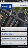 Screenshot of Allianz Křižovatky