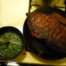 Perfectly Grilled Flank Steak With Chimichurri Sauce
