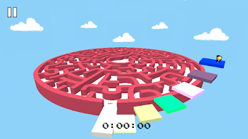 Screenshot of 3D Maze Retro